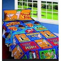 Acolchado 1 1/2 Phineas Y Ferb Disney Piñata
