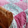 Cubre Edredon Patchwork Funda Lavable Para Acolchado Cover