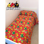Acolchados Infantiles Cover Angry Birds 1 1/2 Reversible