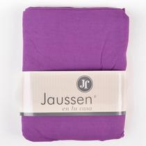Sábana Superior Jaussen Jersey 100% Algodón (violeta, 1 ½)