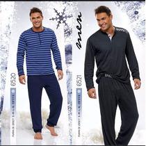 Pijama De Invierno Hombre Lencatex