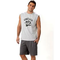 Pijama De Hombre Lencatex 4581: S Al Xxxl!!! Tallas Grandes!