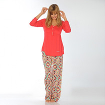 Pijama Talles Especiales Hippie Luz De Mar Dreams 81042 C2
