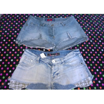 Lote Shorcitos Jeans