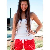 Pijamas Con Diseño // Shorcito ( Talle L)