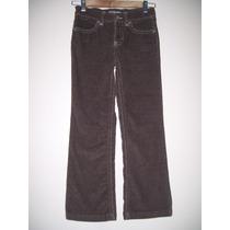 Pantalon Corderoy Elastizado Niña Talle 8 Años
