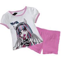 Pijamas Manga Corta De Monster High T2 Al T12 Malatan