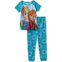 Pijama Frozen Disney Mangas Cortas Importado