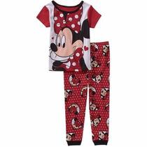 Pijama Minnie Mouse Disney Mangas Cortas Importado