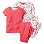 Pijamas Carter´s Algodón 4 Piezas.nena.originales.