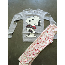 Pijamas Snoopy Excelente Calidad