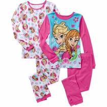 Pijama Nena 2 Piezas Disney Frozen Original Manga Larga