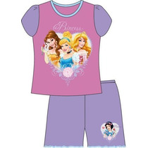 Hermoso Pijama Marca Disney Con Las Princesas Talle 4 Años