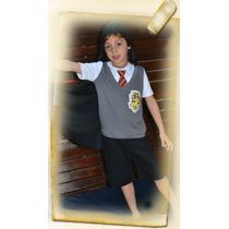 Pijama Harry Potter Con Luz Led Para Chicos Promoción Verano