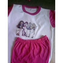 Pijamas Niñas - Princesas- Invierno - T 10-12