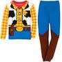 Pijama Disfraz Algodon Woody Talle 6 Importado Disney Store