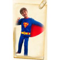 Pijamas Para Chicos Con Luces Led. Superman