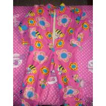 Pijama De Micropolar Entero De Niña Talle 8