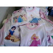 Pijamas Niñas - Princesas - Invierno - T 10-12