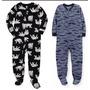Carters Pijamas Micropolar Nene Nena Kids Hasta Talle 10