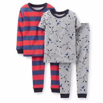 Pijamas Carter´s Algodón 4 Piezas.nene.originales.