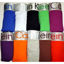 Boxer Calvin Klein Hombre Clasico Varios Colores