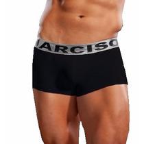 Boxer Corto Narciso Línea Premium Cintura Color Plata