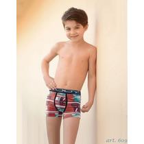 Lody Men- Kids. Boxer Infantil Para Niños. Ropa Interior Pao