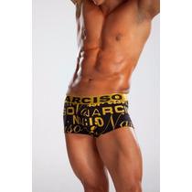 Boxer Corto Microfibra Narciso