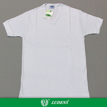 Art511 Camiseta Interlock Manga Corta Escote V - Ludens
