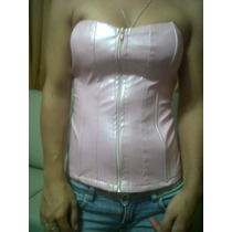 Corset Rosa Talle 2 Y Rojo Talle 1