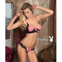 Conjunto Playboy Be Love, Lenceria Lanzamiento !!!