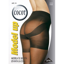 Cocot 91 Panty Media Modeladora Levanta La Cola T3 Ne