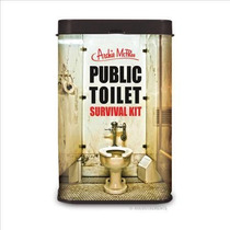 Public Toilet Survival Kit Archie Mcphee ! Getgeek!