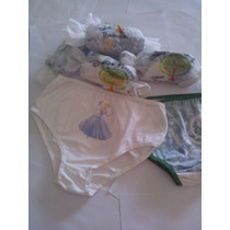 Dulces Travesuras Bombachas De Nena Microfibra Pack X 2