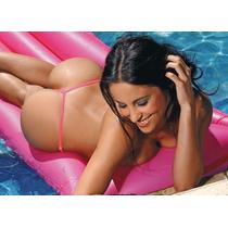 Tanga Cola Less V Brasilera Lycra Micro Bikini Sexy