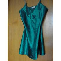 Camisolin Raso Verde Esmeralda Talle G Avon Fashion Usado