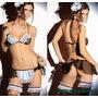 Set 3 Piezas Disfraz Sexy Mucama