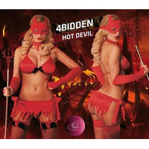 Disfraz Erótico Diablita 149 - Lencería Hot - Traje Sexy