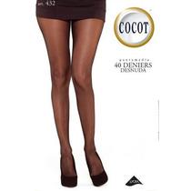 Cocot 432 Panty Media Desnuda Sin Puntera 40 Den Talle 1 A 5