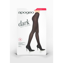 Panty Ultraopaca Streech Apogeo Dark Colores Abrigo Colegial
