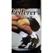Medias De Tenis Federer Pack X3.talle 39/44 Envios Gratis