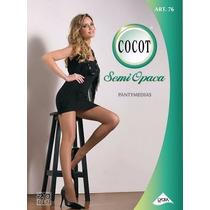 Medias Cocot Art 76 Natural Y Tostado Semi Opaca