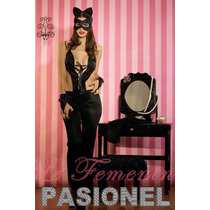 Disfraz Erotico Lenceria Sexy Premium Gatita Hot + Motivos!!