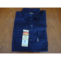 Camisa Trabajo Azul Explora(no Pamero,no Ombu) Talle 42.