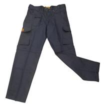Pantalón Trabajo Cargo Reforzado Gaucho Talles 48 A 54 Azul