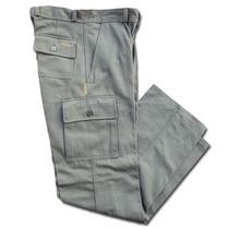 Ropa De Trabajo - Pantalon Cargo Beige- Somos Fabricantes