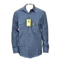 Camisa De Trabajo Pampero Azul Talle 48 Nuevas