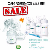 Avent Philips Sacaleche Manual 330/19+set Avent.imperdible!!