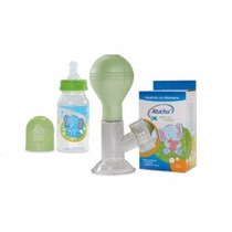 Set Sacaleche Manual + Mamadera 140 Ml Atucha Facil Limpieza